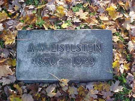 EISELSTEIN, A. M. - Meigs County, Ohio   A. M. EISELSTEIN - Ohio Gravestone Photos