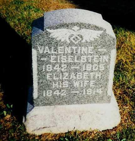 EISELSTEIN, VALENTINE - Meigs County, Ohio | VALENTINE EISELSTEIN - Ohio Gravestone Photos