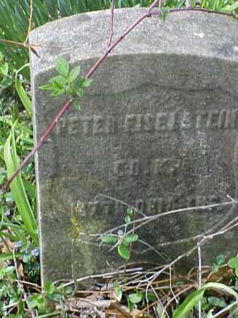 EISELSTEIN, PETER - Meigs County, Ohio | PETER EISELSTEIN - Ohio Gravestone Photos