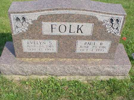 FOLK, PAUL B. - Meigs County, Ohio | PAUL B. FOLK - Ohio Gravestone Photos