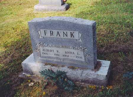 FRANK, ALBERT R. - Meigs County, Ohio | ALBERT R. FRANK - Ohio Gravestone Photos