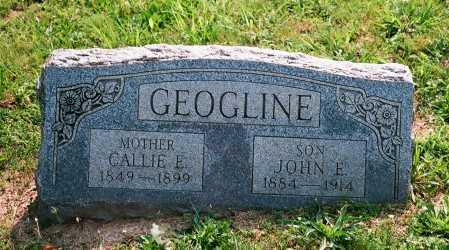 GEOGLINE, JOHN E. - Meigs County, Ohio   JOHN E. GEOGLINE - Ohio Gravestone Photos