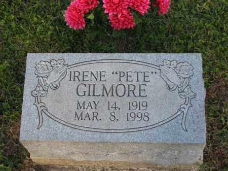 "GILMORE, IRENE ""PETE"" - Meigs County, Ohio | IRENE ""PETE"" GILMORE - Ohio Gravestone Photos"