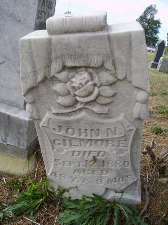 GILMORE, JOHN N. - OVERALL VIEW - Meigs County, Ohio   JOHN N. - OVERALL VIEW GILMORE - Ohio Gravestone Photos