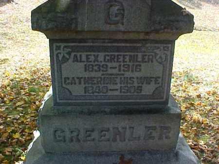 GREENLER, ALEX - Meigs County, Ohio | ALEX GREENLER - Ohio Gravestone Photos