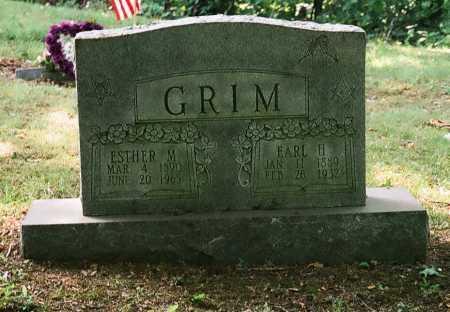 GRIM, ESTHER M. - Meigs County, Ohio | ESTHER M. GRIM - Ohio Gravestone Photos