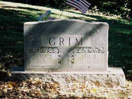 GRIMM, ESTHER M. - Meigs County, Ohio   ESTHER M. GRIMM - Ohio Gravestone Photos