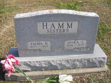 HAMM, DORA L. - Meigs County, Ohio | DORA L. HAMM - Ohio Gravestone Photos
