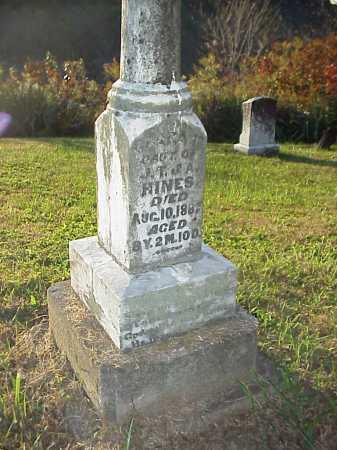 HINES, CLARA - Meigs County, Ohio   CLARA HINES - Ohio Gravestone Photos