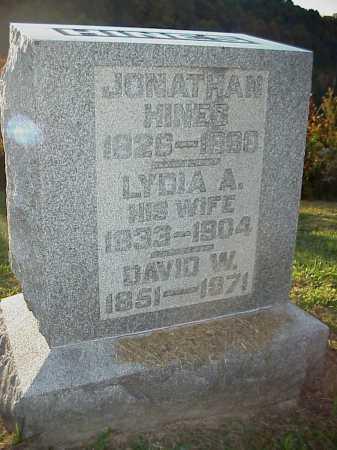 HINES, LYDIA A. - Meigs County, Ohio | LYDIA A. HINES - Ohio Gravestone Photos