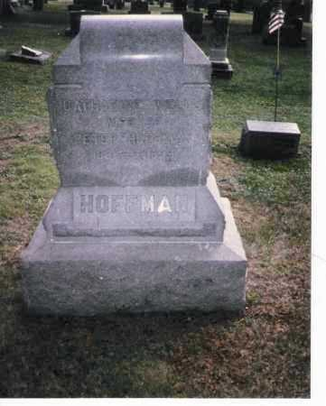 WELLS HOFFMAN, CATHERINE - Meigs County, Ohio | CATHERINE WELLS HOFFMAN - Ohio Gravestone Photos