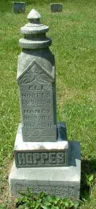 HOPPES, NANCY - Meigs County, Ohio | NANCY HOPPES - Ohio Gravestone Photos