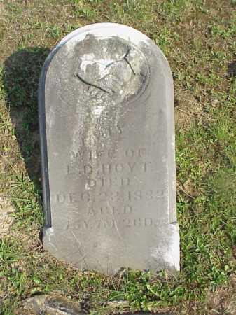HOYT, LORENZO D. - Meigs County, Ohio | LORENZO D. HOYT - Ohio Gravestone Photos