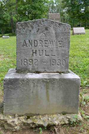 HULL, ANDREW E. - Meigs County, Ohio   ANDREW E. HULL - Ohio Gravestone Photos