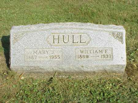 HULL, WILLIAM E. - Meigs County, Ohio | WILLIAM E. HULL - Ohio Gravestone Photos