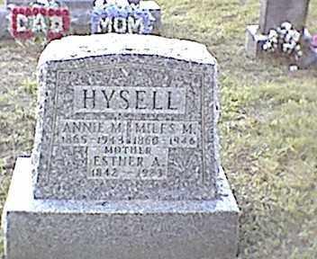 HYSELL, MILES M. - Meigs County, Ohio | MILES M. HYSELL - Ohio Gravestone Photos