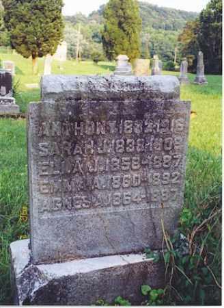 HYSELL, AGNES A. - Meigs County, Ohio | AGNES A. HYSELL - Ohio Gravestone Photos
