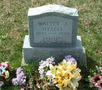 HYSELL, WALTER JAMES - Meigs County, Ohio   WALTER JAMES HYSELL - Ohio Gravestone Photos