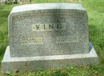 KING, EARL - Meigs County, Ohio | EARL KING - Ohio Gravestone Photos