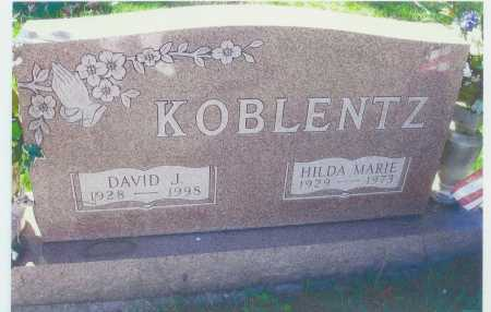 KOBLENTZ, HILDA M. - Meigs County, Ohio | HILDA M. KOBLENTZ - Ohio Gravestone Photos