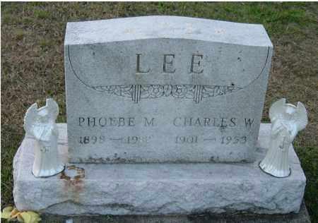 LEE, CHARLES W. - Meigs County, Ohio | CHARLES W. LEE - Ohio Gravestone Photos