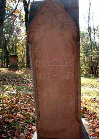 LEE, GEORGE B. - Meigs County, Ohio | GEORGE B. LEE - Ohio Gravestone Photos
