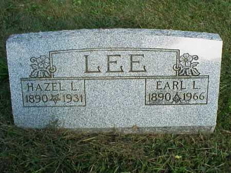 LEE, HAZEL - Meigs County, Ohio | HAZEL LEE - Ohio Gravestone Photos