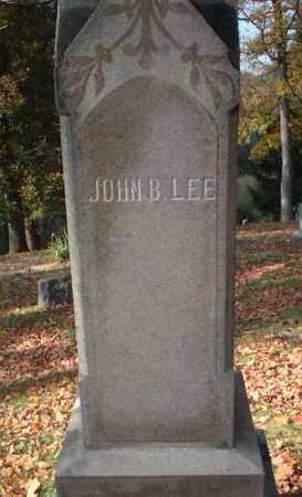 LEE, JOHN B. - Meigs County, Ohio   JOHN B. LEE - Ohio Gravestone Photos