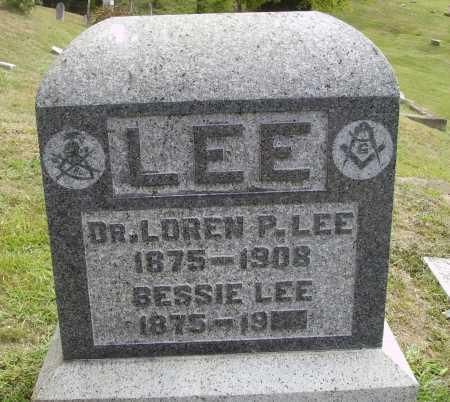 LEE, BESSIE - Meigs County, Ohio | BESSIE LEE - Ohio Gravestone Photos