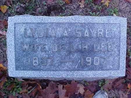 LEE, LYDIA A. - Meigs County, Ohio | LYDIA A. LEE - Ohio Gravestone Photos