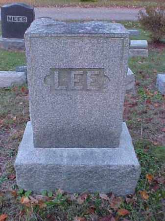 LEE, MONUMENT - Meigs County, Ohio   MONUMENT LEE - Ohio Gravestone Photos