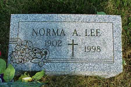 LEE, NORMA ALTHEA - Meigs County, Ohio   NORMA ALTHEA LEE - Ohio Gravestone Photos