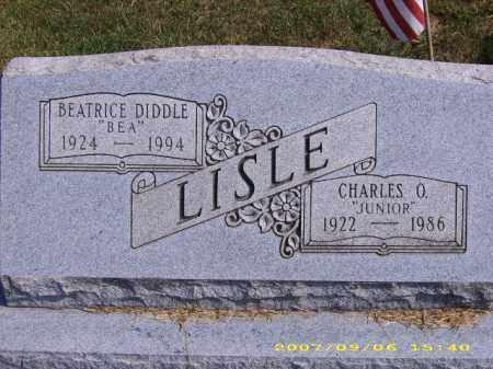 LISLE, JR, CHARLES O - Meigs County, Ohio | CHARLES O LISLE, JR - Ohio Gravestone Photos