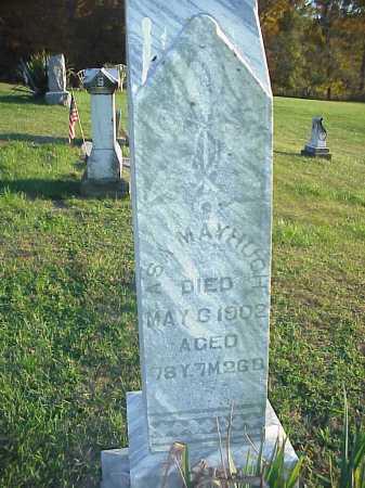 MAYHUGH, ASA - Meigs County, Ohio   ASA MAYHUGH - Ohio Gravestone Photos
