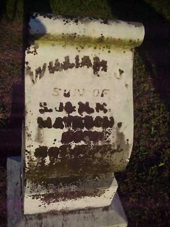 MAYHUGH, WILLIAM J. - Meigs County, Ohio | WILLIAM J. MAYHUGH - Ohio Gravestone Photos