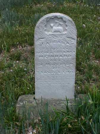 MEINHARD, BARBARA - Meigs County, Ohio   BARBARA MEINHARD - Ohio Gravestone Photos