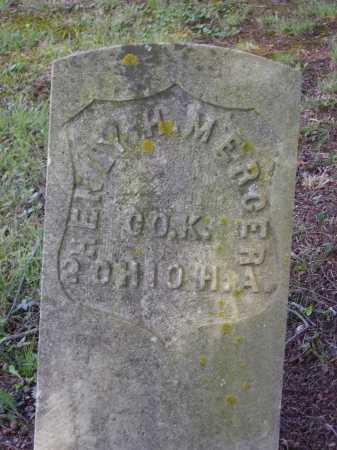 MERCER, HENLEY H. - Meigs County, Ohio | HENLEY H. MERCER - Ohio Gravestone Photos