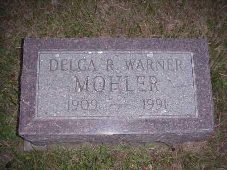 MOHLER, DELCA R. - Meigs County, Ohio   DELCA R. MOHLER - Ohio Gravestone Photos