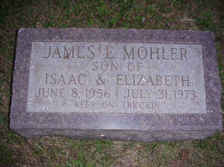 MOHLER, JAMES E. - Meigs County, Ohio   JAMES E. MOHLER - Ohio Gravestone Photos