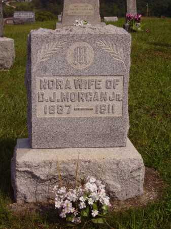 NELSON MORGAN, CLARA NORA - Meigs County, Ohio | CLARA NORA NELSON MORGAN - Ohio Gravestone Photos