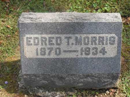 MORRIS, EDRED T. - Meigs County, Ohio   EDRED T. MORRIS - Ohio Gravestone Photos