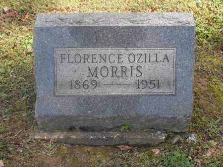 MORRIS, FLORENCE OZILLA - Meigs County, Ohio   FLORENCE OZILLA MORRIS - Ohio Gravestone Photos