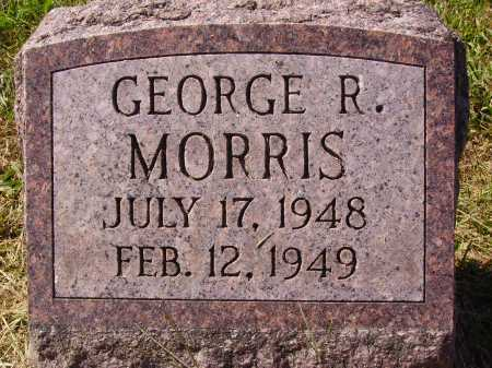 MORRIS, GEORGE R. - Meigs County, Ohio | GEORGE R. MORRIS - Ohio Gravestone Photos