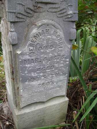 MORRIS, JEREMIAH - Meigs County, Ohio | JEREMIAH MORRIS - Ohio Gravestone Photos