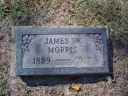 MORRIS, JAMES W. - Meigs County, Ohio | JAMES W. MORRIS - Ohio Gravestone Photos