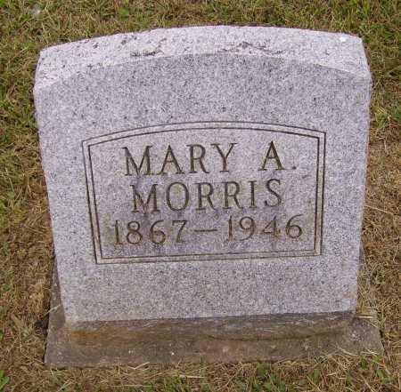 MORRIS, MARY A. - Meigs County, Ohio   MARY A. MORRIS - Ohio Gravestone Photos