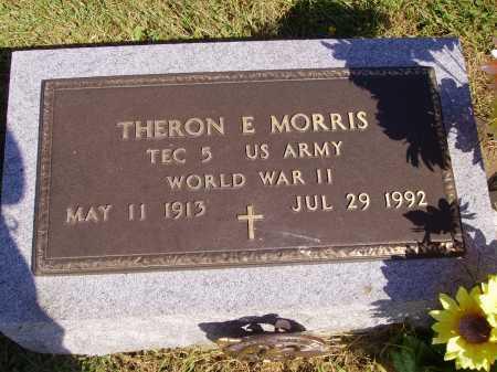MORRIS, THERON E. - Meigs County, Ohio | THERON E. MORRIS - Ohio Gravestone Photos