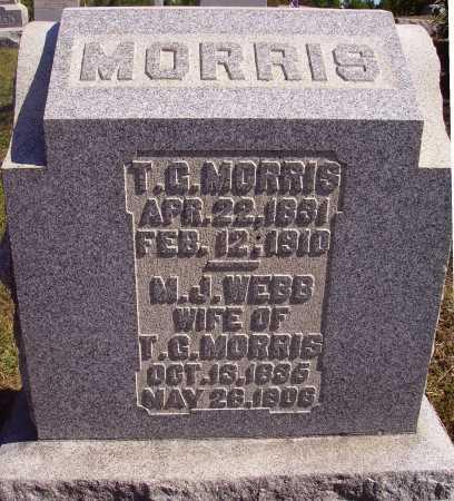 MORRIS, MARGARET J. - Meigs County, Ohio | MARGARET J. MORRIS - Ohio Gravestone Photos