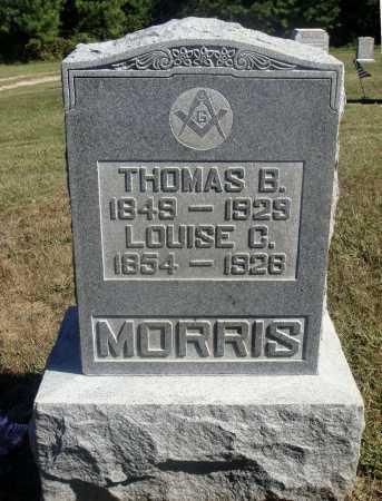MORRIS, THOMAS B. - Meigs County, Ohio   THOMAS B. MORRIS - Ohio Gravestone Photos