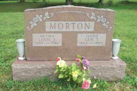 ARTHUR MORTON, LOVIE AGNES - Meigs County, Ohio   LOVIE AGNES ARTHUR MORTON - Ohio Gravestone Photos